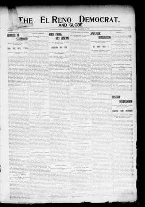 Primary view of object titled 'The El Reno Democrat. And Globe (El Reno, Okla. Terr.), Vol. 16, No. 49, Ed. 1 Thursday, December 21, 1905'.