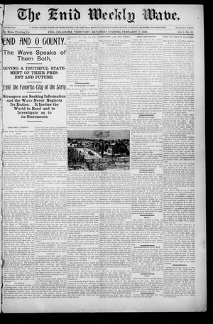 The Enid Weekly Wave. (Enid, Okla. Terr.), Vol. 1, No. 10, Ed. 1 Saturday, February 17, 1894