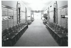 Primary view of object titled 'Interior of the Holiday Shoe Store in Oklahoma City, Oklahoma'.