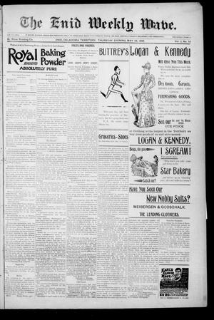 The Enid Weekly Wave. (Enid, Okla. Terr.), Vol. 2, No. 21, Ed. 1 Thursday, May 23, 1895