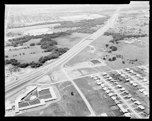 Primary view of object titled 'Oklahoma City aerial view'.