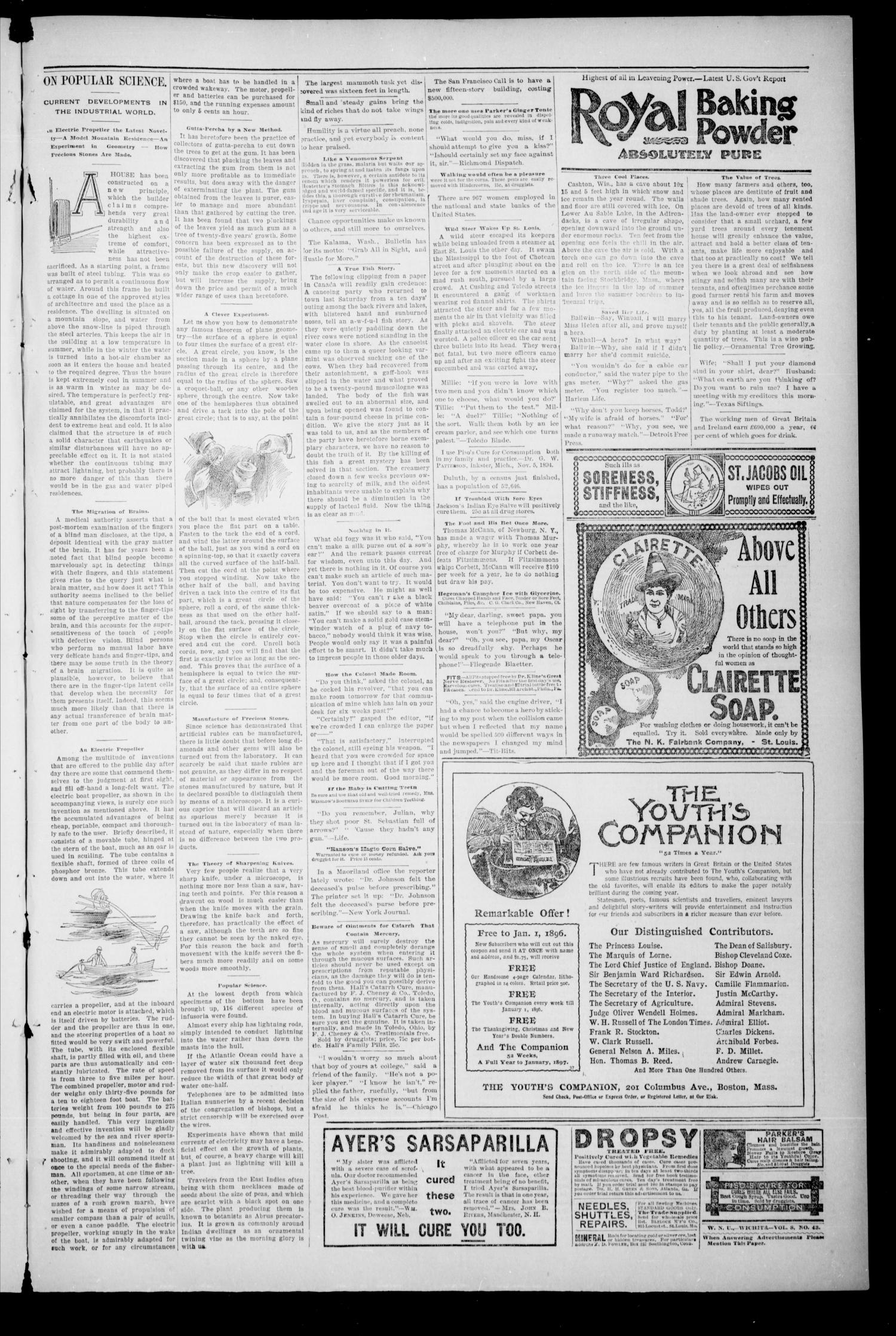 The Enid Weekly Wave. (Enid, Okla. Terr.), Vol. 2, No. 43, Ed. 1 Thursday, October 24, 1895                                                                                                      [Sequence #]: 3 of 8