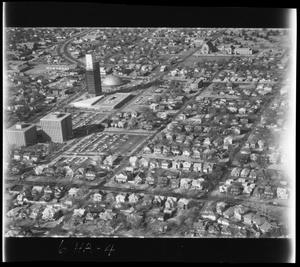 Primary view of object titled 'Aerial View of Northwest 23rd and Western'.
