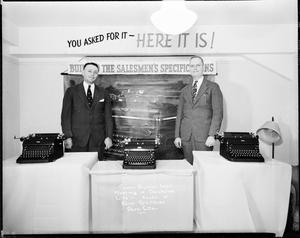 Royal Typewriters Acct.