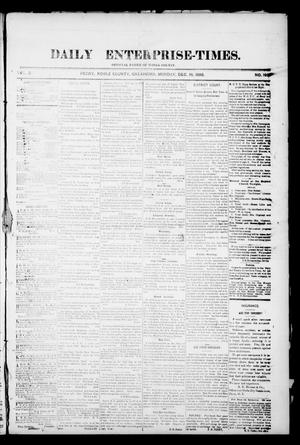 Daily Enterprise-Times. (Perry, Okla.), Vol. 1, No. 193, Ed. 1 Monday, December 16, 1895