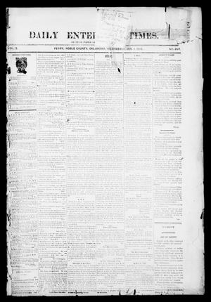 Primary view of object titled 'Daily Enterprise-Times. (Perry, Okla.), Vol. 1, No. 207, Ed. 1 Wednesday, January 1, 1896'.