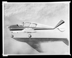 Primary view of object titled 'Airplane for the Tom Gordon Advertising Account'.