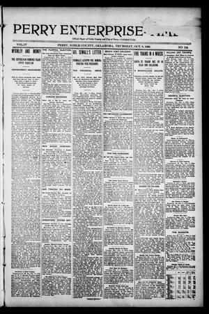 Perry Enterprise-Times. (Perry, Okla.), Vol. 4, No. 134, Ed. 1 Thursday, October 8, 1896