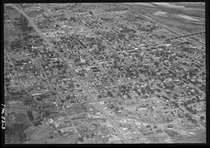 Primary view of object titled 'Aerial View of Purcell, Oklahoma'.
