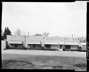 Primary view of object titled 'Quality Oil Company in Purcell, Oklahoma'.