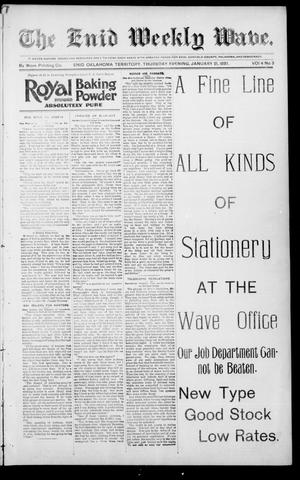 The Enid Weekly Wave. (Enid, Okla. Terr.), Vol. 4, No. 3, Ed. 1 Thursday, January 21, 1897