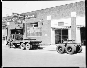 Primary view of object titled 'Service Entrance at Fred Jones Ford in Oklahoma City, Oklahoma'.