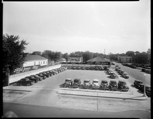 Primary view of object titled 'Fred Jones Ford Used Cars Dealership Lot in Oklahoma City, Oklahoma'.