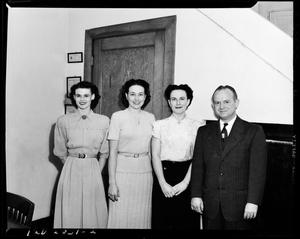 Primary view of object titled 'Women and Man from IBM in Oklahoma City, Oklahoma'.