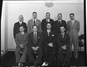 Primary view of object titled 'Group of Men from Gold Medal Oklahoma City Mill and Elevator'.