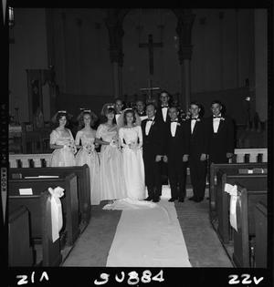 Primary view of object titled 'Ann Crabtree and Gary Goodman Wedding'.