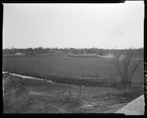 Primary view of object titled 'A Field and Neighborhood in Oklahoma City, Oklahoma'.