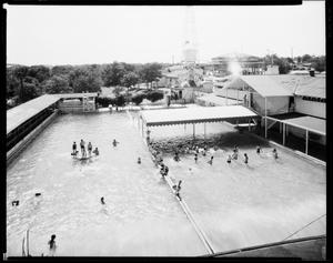 Primary view of object titled 'Spring Lake Amusement Park Swimming Pool'.