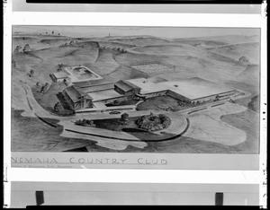 Primary view of object titled 'Aerial View - Nemaha Country Club Golf Course in Oklahoma City, Oklahoma'.