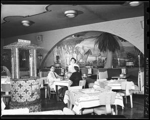 Primary view of object titled 'Restaurant Interior'.