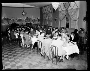 Primary view of object titled 'People at an IBM Banquet in Oklahoma City, Oklahoma'.