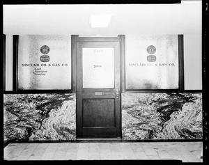 Primary view of object titled 'Door To Sinclair Oil and Gas Company in Oklahoma City, Oklahoma'.