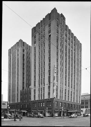 Primary view of object titled 'Skirvin Tower Hotel'.