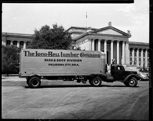 Primary view of object titled 'Long-Bell Lumber Company Truck'.