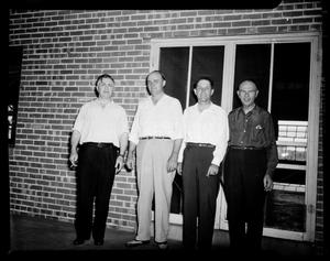 Primary view of object titled 'Four UNIDENTIFIED Men in Oklahoma City, Oklahoma'.