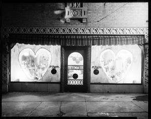 Primary view of object titled 'Ed Reynolds Florist Display Window'.