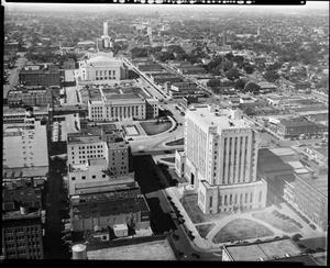 Primary view of object titled 'Civic Center and Oklahoma County Courthouse'.