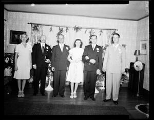 Primary view of object titled 'Kueffer - Carlyle Wedding'.