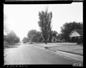 Primary view of object titled 'Neighborhood Street View in Oklahoma City, Oklahoma'.