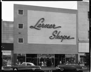 Primary view of object titled 'Lerner Shops'.