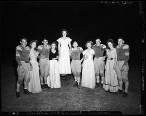 Primary view of object titled 'Britton High School Football Queen and Her Court'.