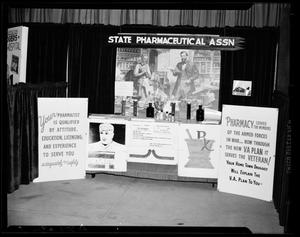 Primary view of object titled 'State Pharmaceutical Association Exhibit'.