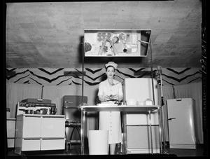 Primary view of object titled 'Woman Cooking'.