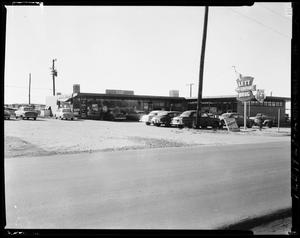 Primary view of object titled 'Lett Drug Store in Del City, Oklahoma'.