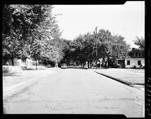 Primary view of object titled 'Street View of Kentucky and NW Park Streets in Oklahoma City, Oklahoma'.