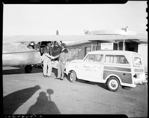 Primary view of object titled 'Downtown Airport Acct.'.