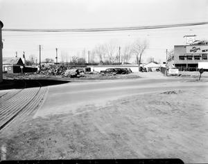 Primary view of object titled 'Railroad Tracks in Oklahoma City'.