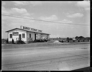 Primary view of object titled 'Barney Stewart Lumber Acct.'.