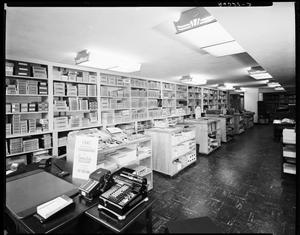 Primary view of object titled 'Interior of Branham's Office Equipment in Oklahoma City, Oklahoma'.