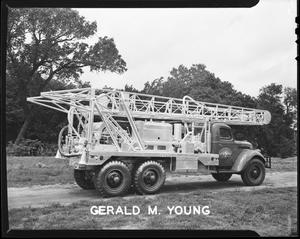 Primary view of object titled 'Gerald M. Young Oil Exploration Truck'.