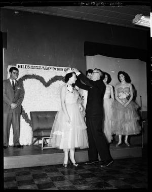 Primary view of object titled 'Hills Business College Valentine Party in Oklahoma City, Oklahoma'.