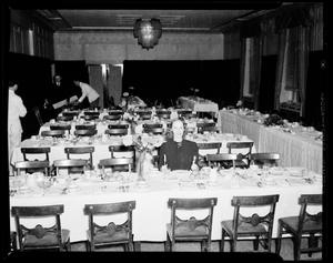 Primary view of object titled 'Banquet Tables'.