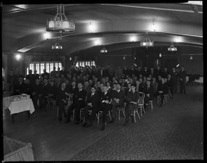 Primary view of object titled 'Group of Men in a Conference Room in Oklahoma City, Oklahoma'.