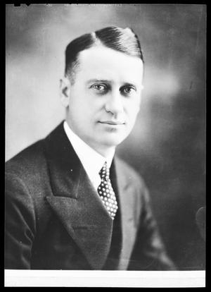 Primary view of object titled 'Fred Jones of Fred Jones Ford Company in Oklahoma City, Oklahoma'.