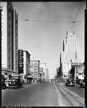 Primary view of object titled 'Grand Avenue in Downtown Oklahoma City'.