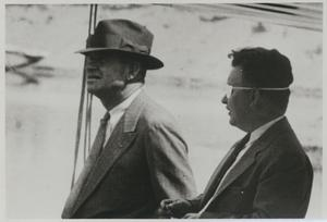 Primary view of object titled 'Will Rogers and Wiley Post'.